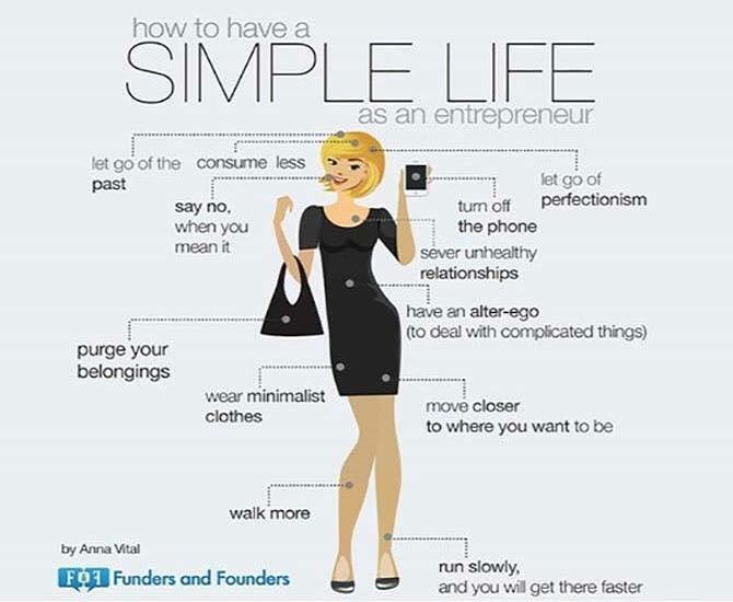 how to have a simple life