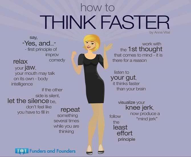 How-To Think Faster